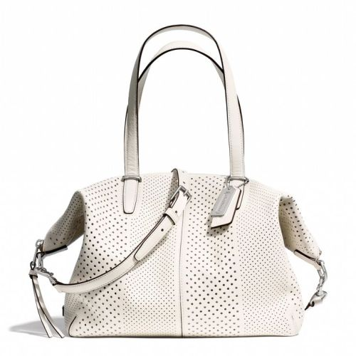 Coach_Bleeker Cooper Satchel_perforated leather