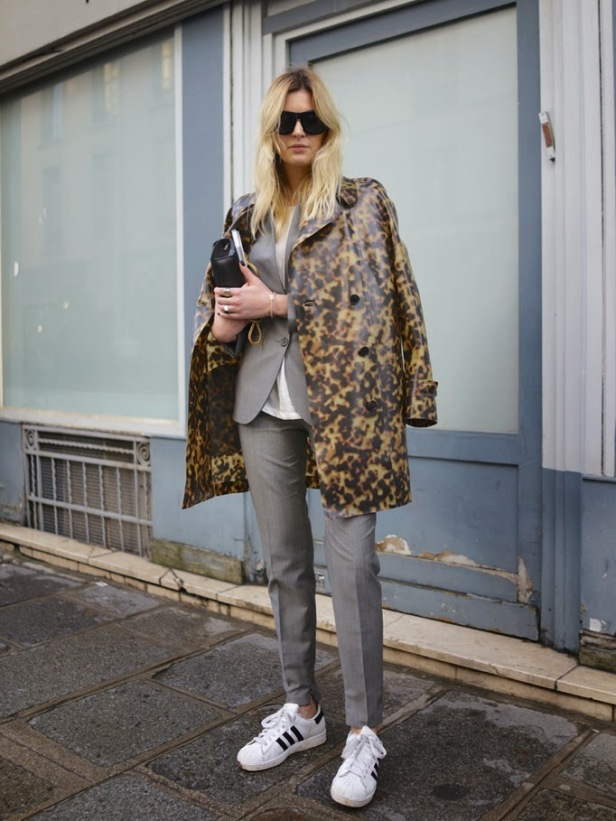 Adidas Superstar 2.0_Camille_suit_PFW BARABA BUI by Facehunter