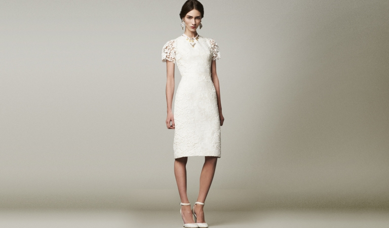 dolce-and-gabbana-fw-2014-womenswear-brocade-and-lace-dress#2