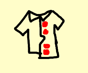 Button Up_ drawing